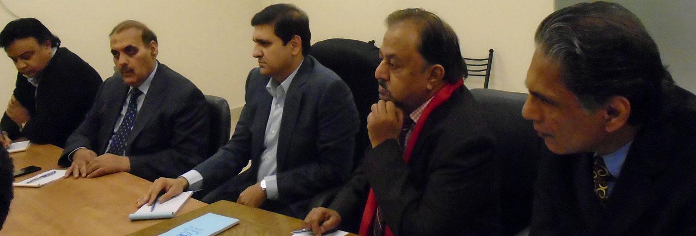 Meeting With Mr. Muddasar Tipu