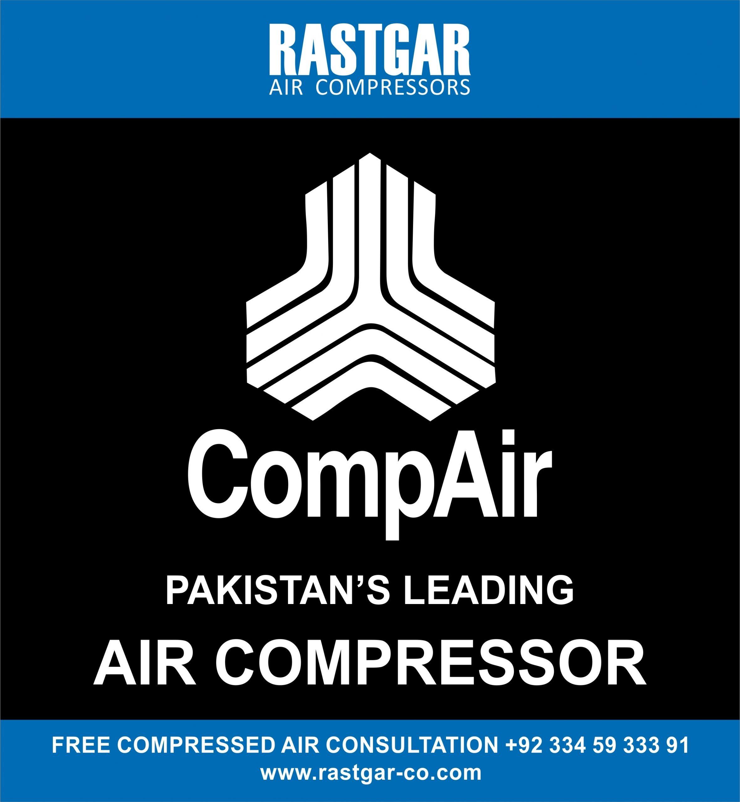 Pakistan's Leading Air Compressors CompAir