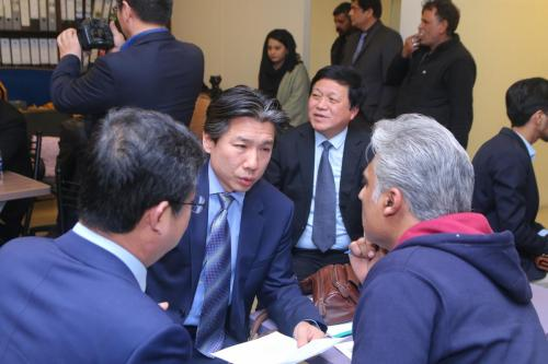 B2B meeting between Pakistani & Chinese Company