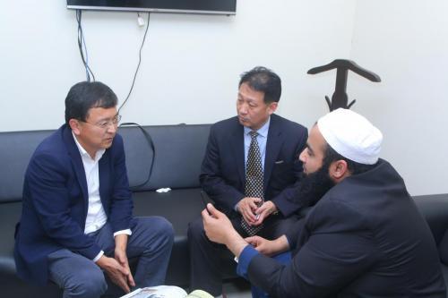 B2B meeting between Pakistani company & Chinese Company